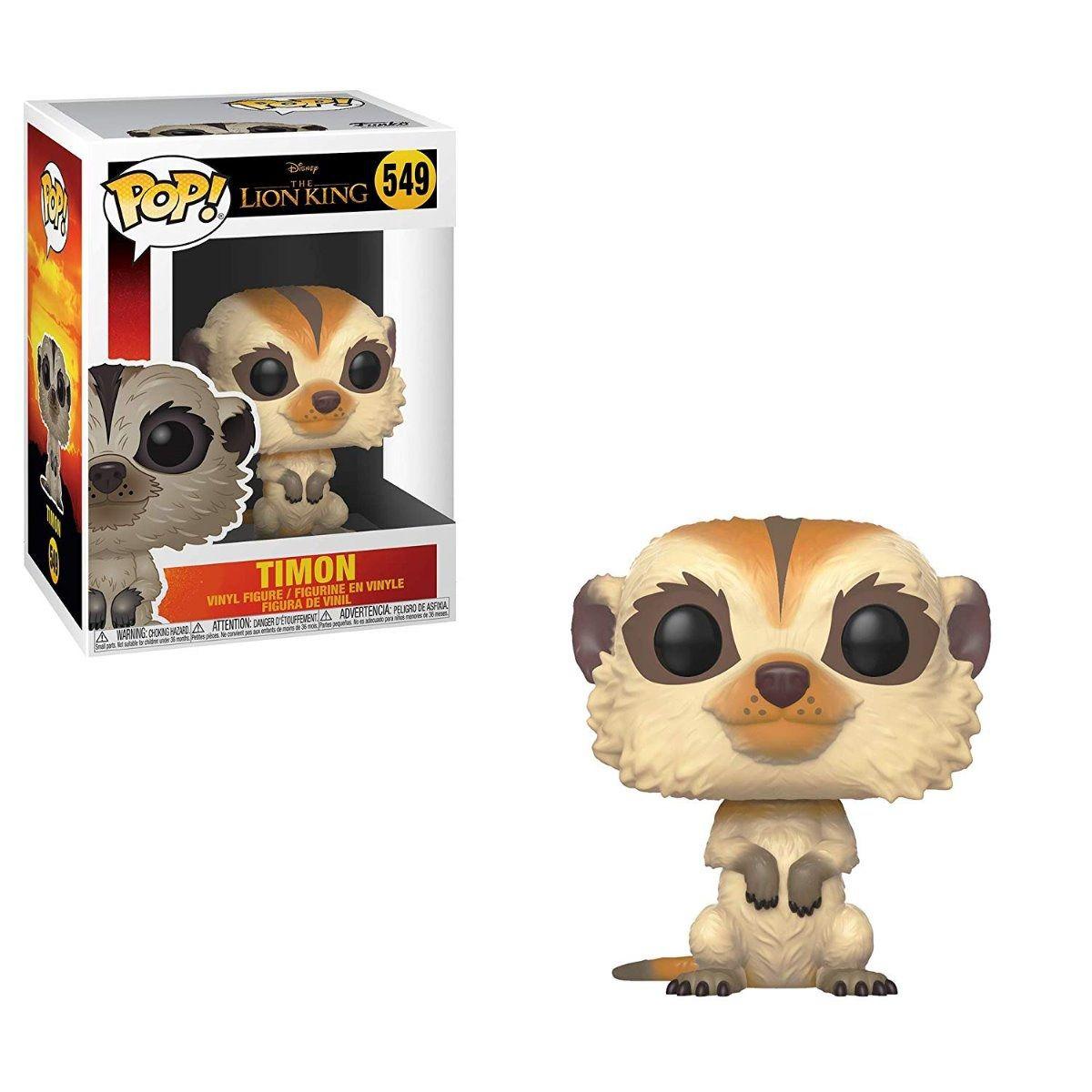 Funko Pop Disney Rei Leão - Timon 549