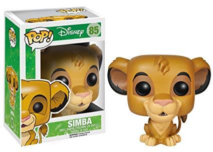 Funko Pop Disney Rei Leão - Simba 85