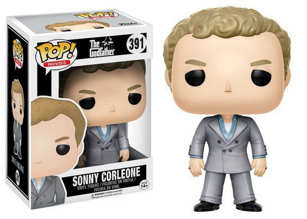 Funko Pop Filmes Godfather ( Poderoso Chefão ) - Sonny Corleone