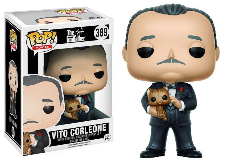 Funko Pop Filmes Godfather ( Poderoso Chefão ) - Vito Corleone
