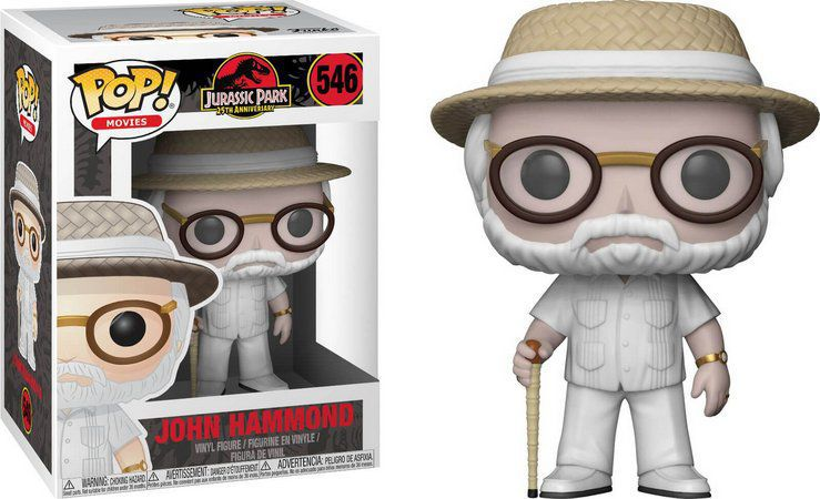 Funko Pop Filmes Jurassic Park - John Hammond