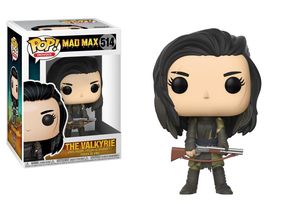 Funko Pop Filmes Mad Max - The Valkyrie
