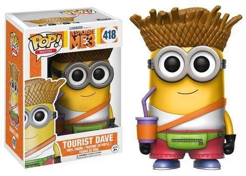 Funko Pop Filmes Meu Malvado Favorito Tourist Dave