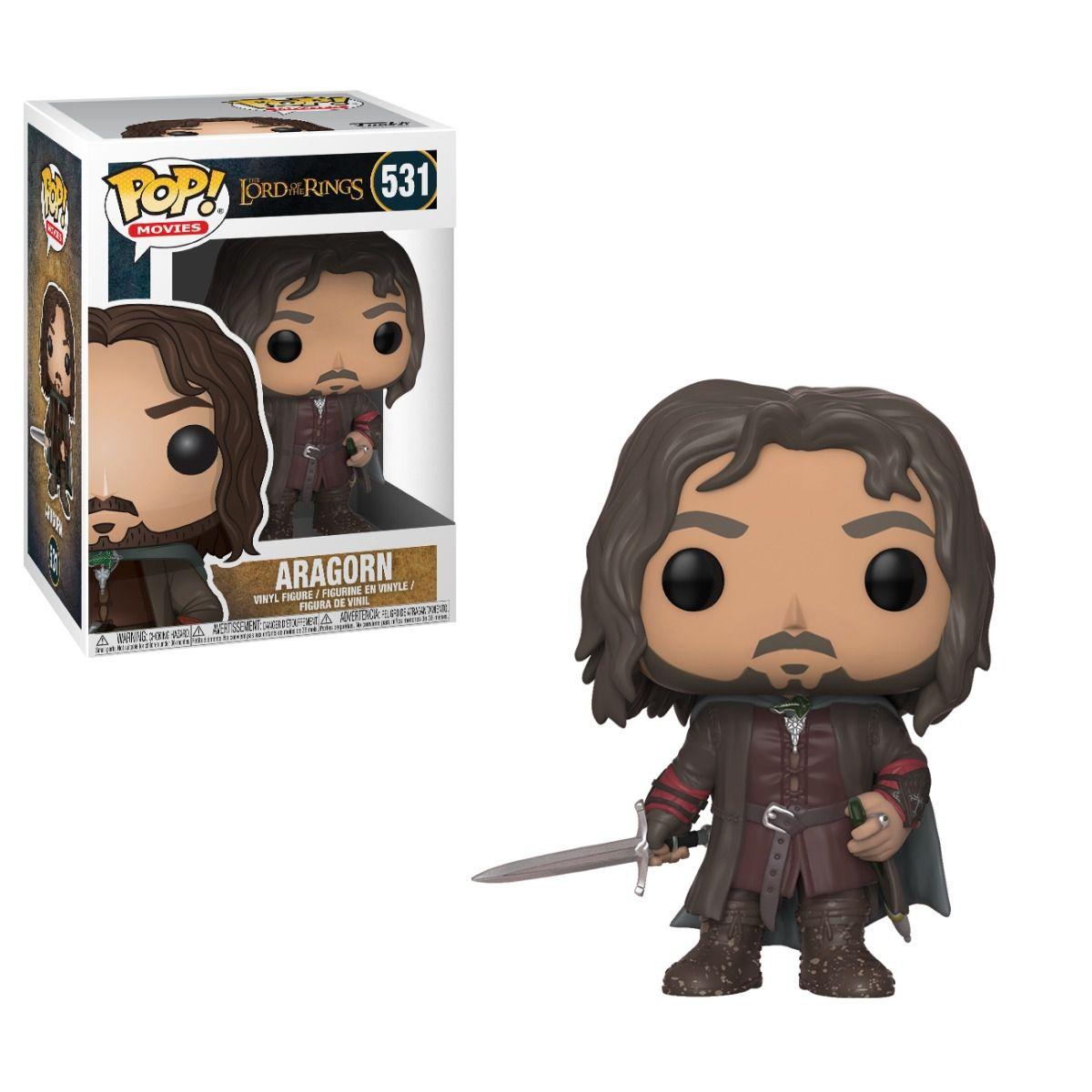Funko Pop Filmes - Senhor dos Anéis - Aragorn 531