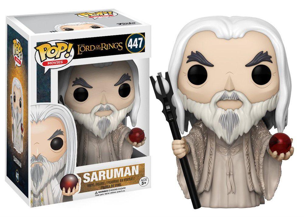 Funko Pop Filmes - Senhor dos Anéis- Saruman