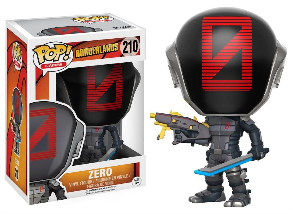 Funko Pop Games Borderlands - Zero