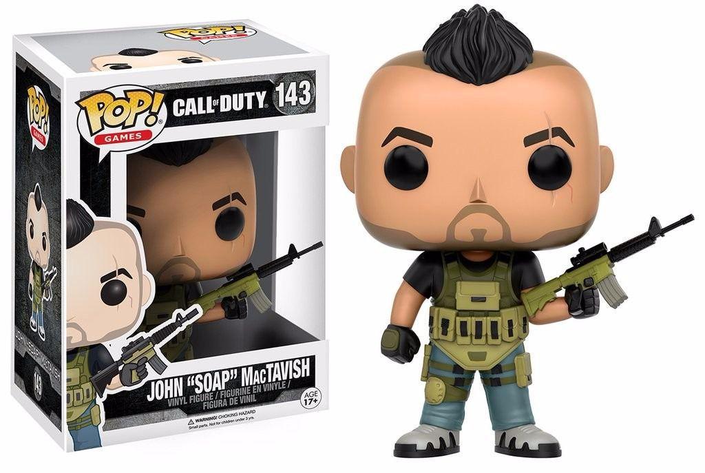 Funko Pop Games Call Of Duty - John Soap Mac Tavish
