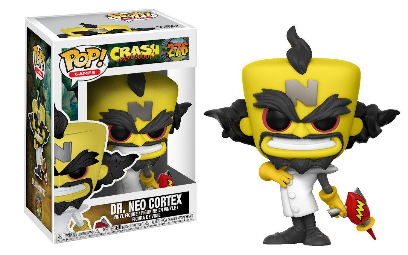 Funko Pop Games  Crash Bandiccon - Dr. Neo Cortex