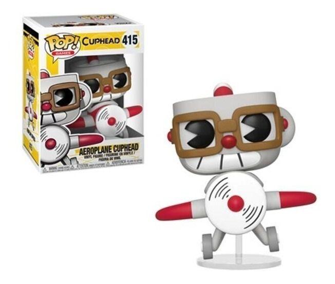 Funko Pop Games Cuphead Aeroplane Cuphead 415