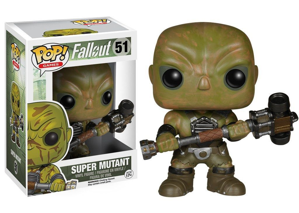 Funko Pop Games Fallout - Super Mutant