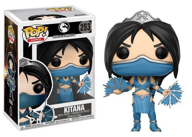 Funko Pop Games Mortal Kombat X - Kitana