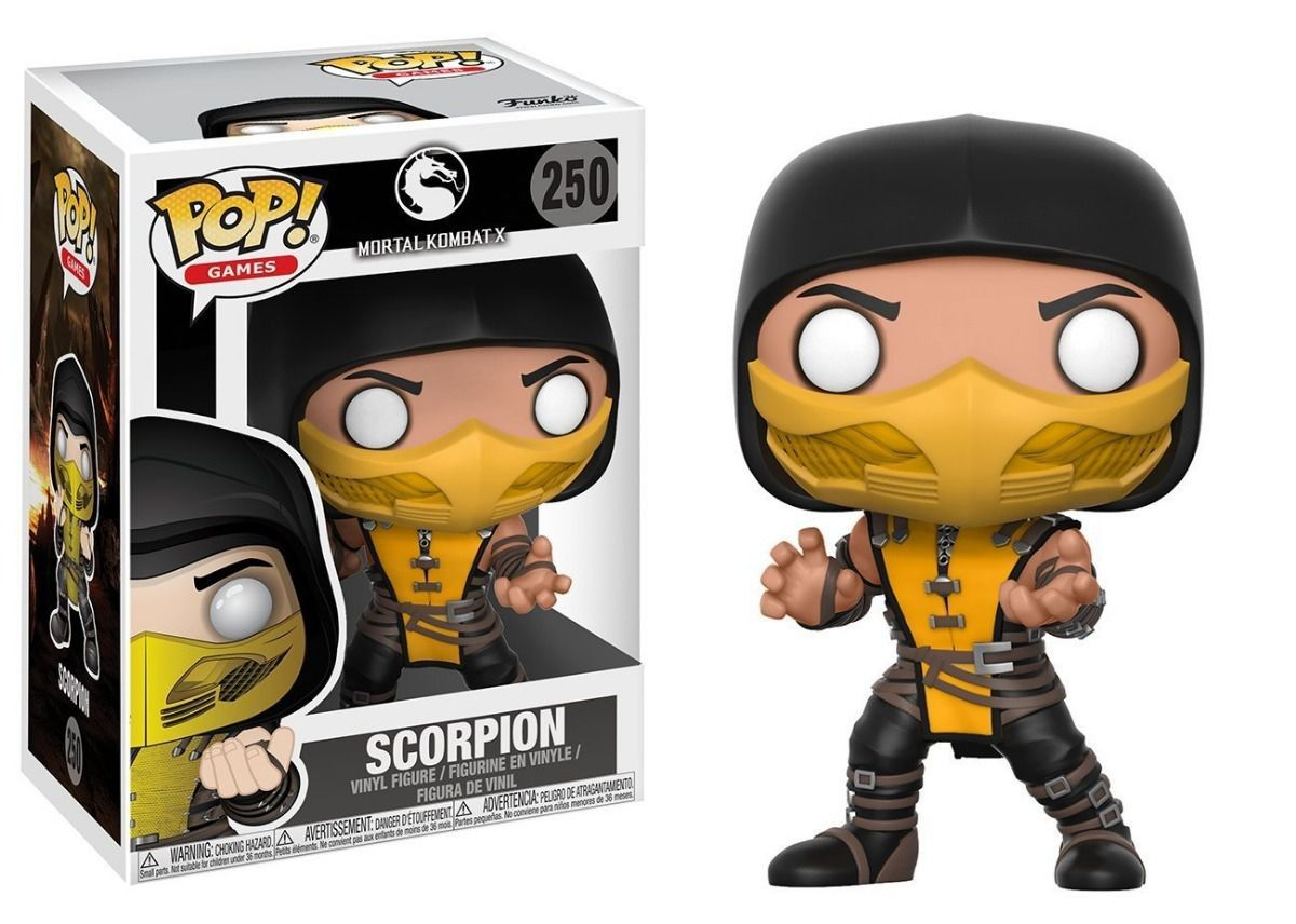 Funko Pop Games Mortal Kombat X - Scorpion