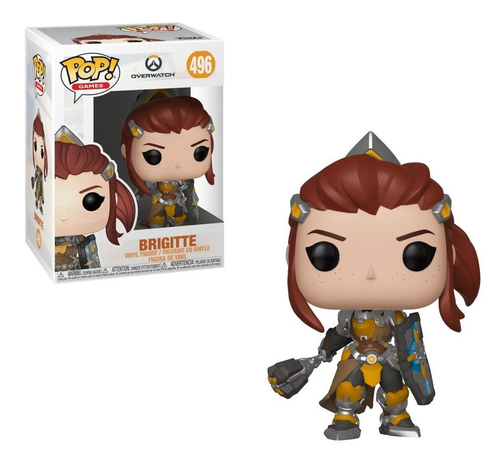 Funko Pop Games Overwatch Brigitte