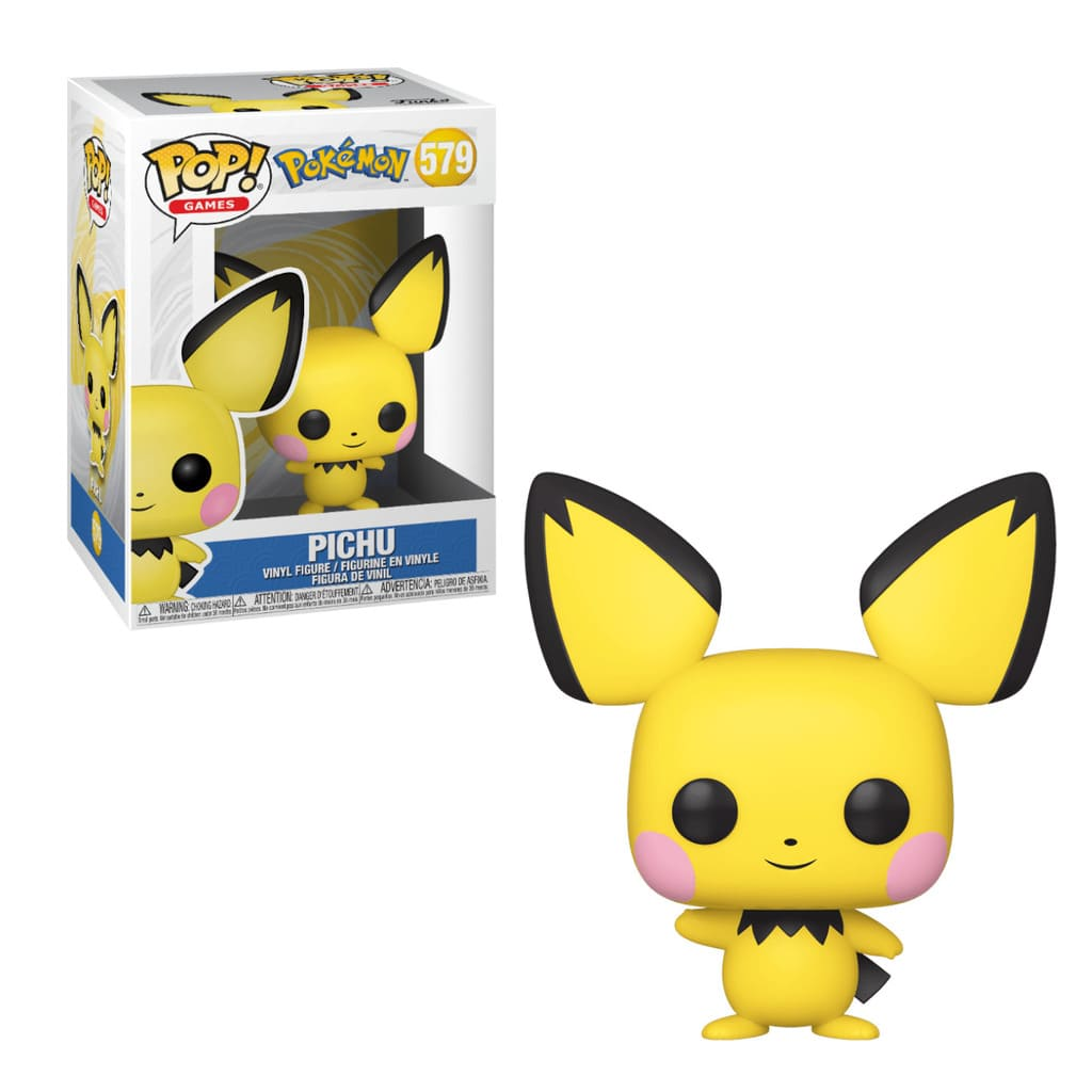 Funko Pop Games Pokémon Pichu 579