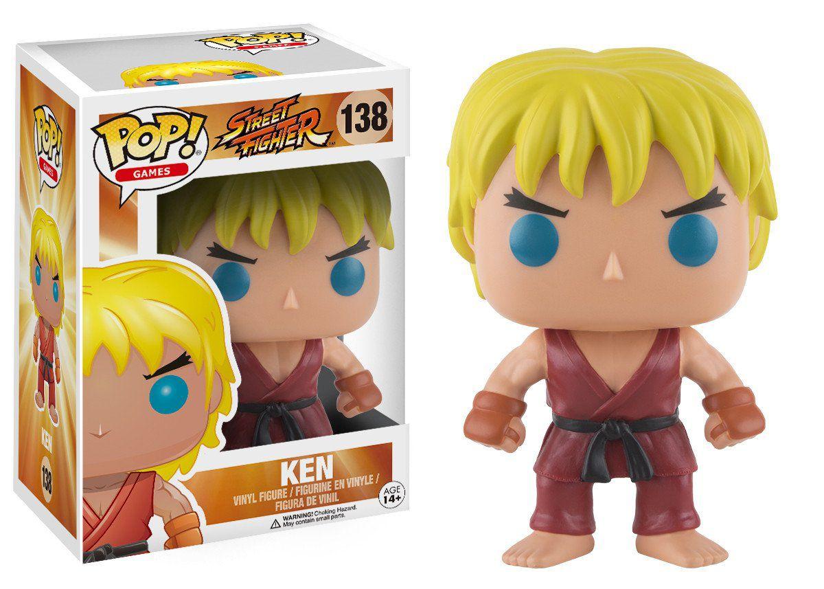 Funko Pop Games Street Fighter - Ken
