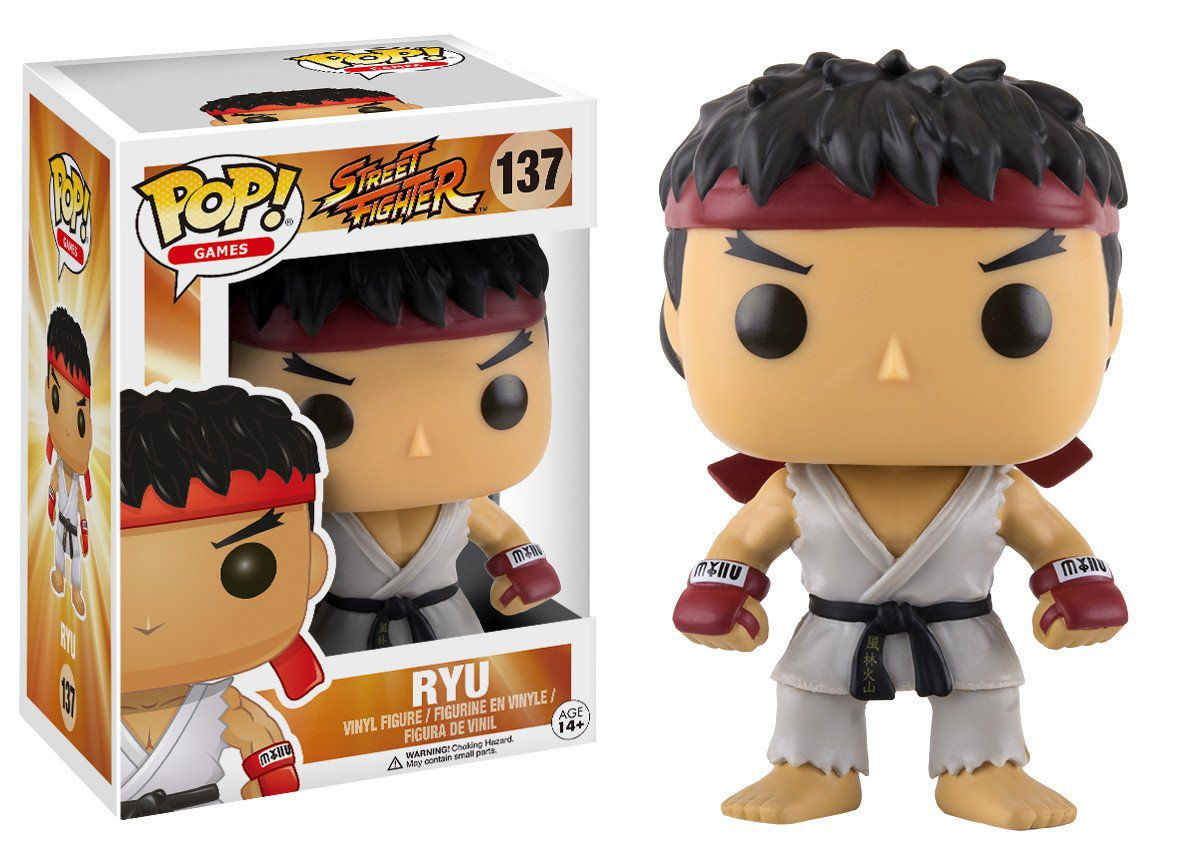Funko Pop Games Street Fighter - Ryu