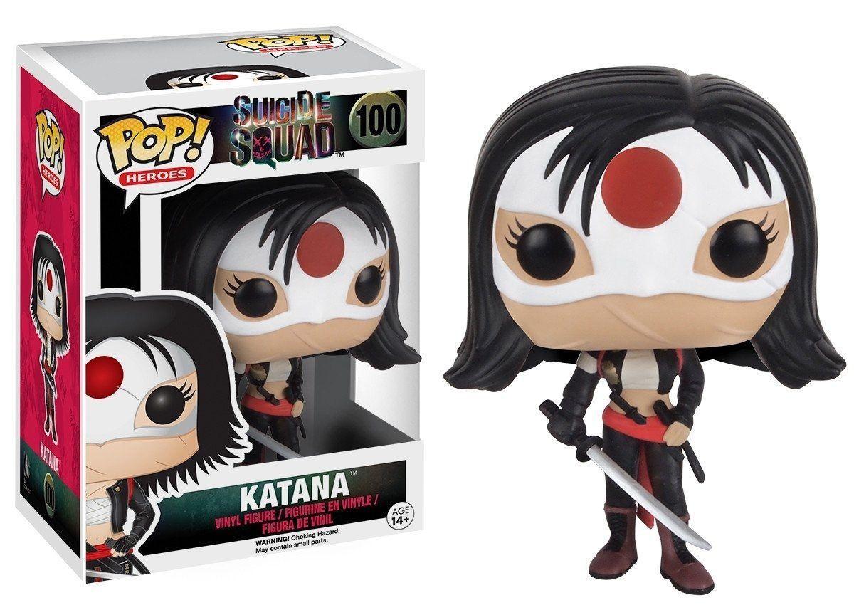 Funko Pop Heroes Suicide Squad - Katana 100