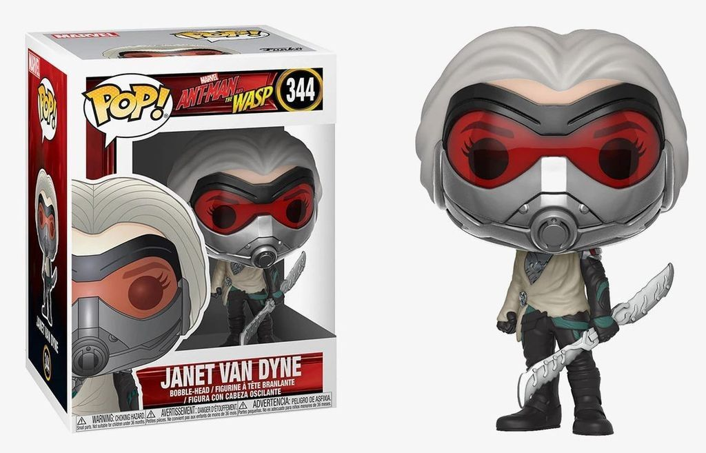 Funko Pop Marvel Ant-man & The Wasp - Janet Van Dyne 344