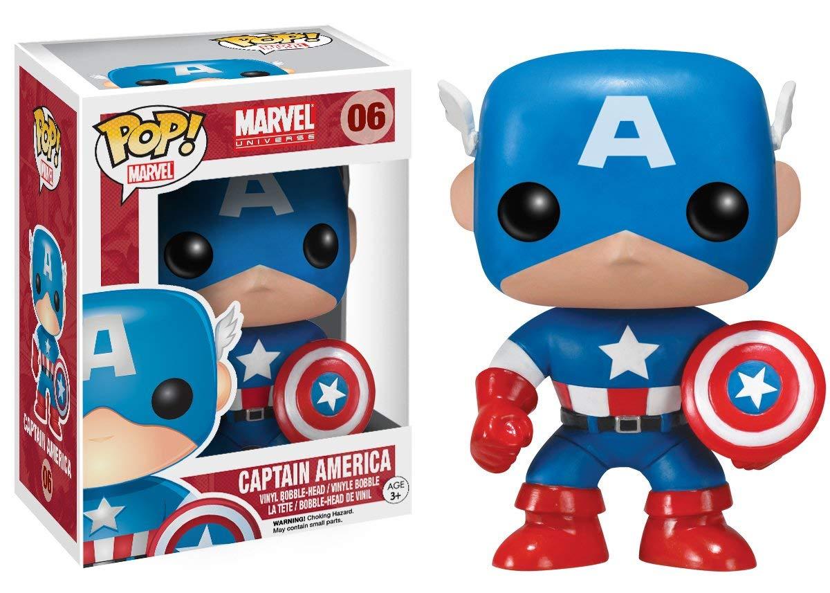 Funko Pop Marvel - Capitão América