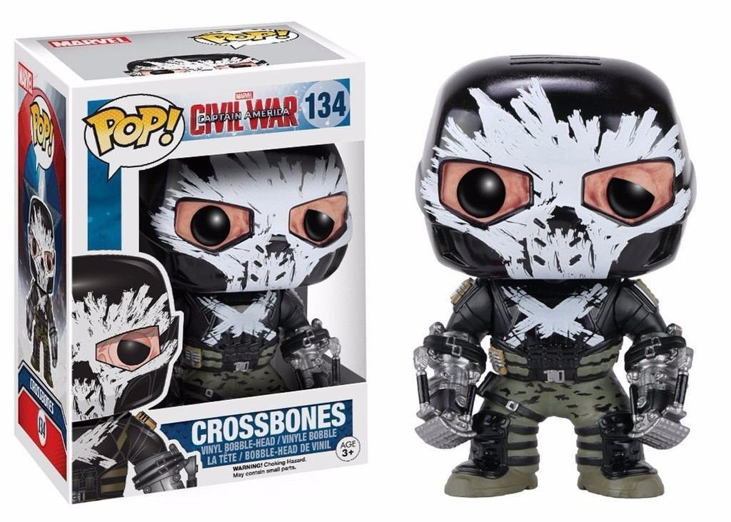 Funko Pop Marvel Civil War - Crossbones