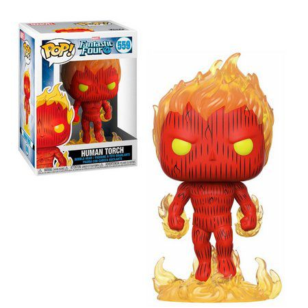 Funko Pop Marvel Fantastic Four Doctor Human Torch