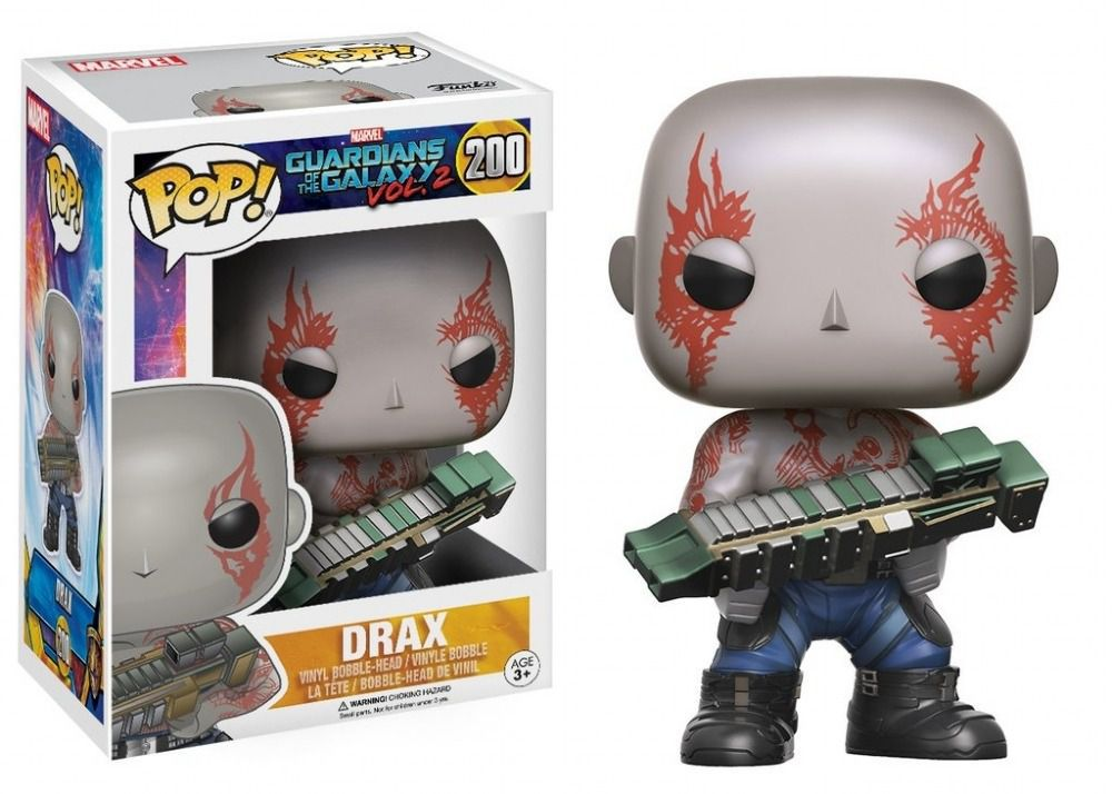 Funko Pop Marvel Guardians of the Galaxy Vol.02 - Drax
