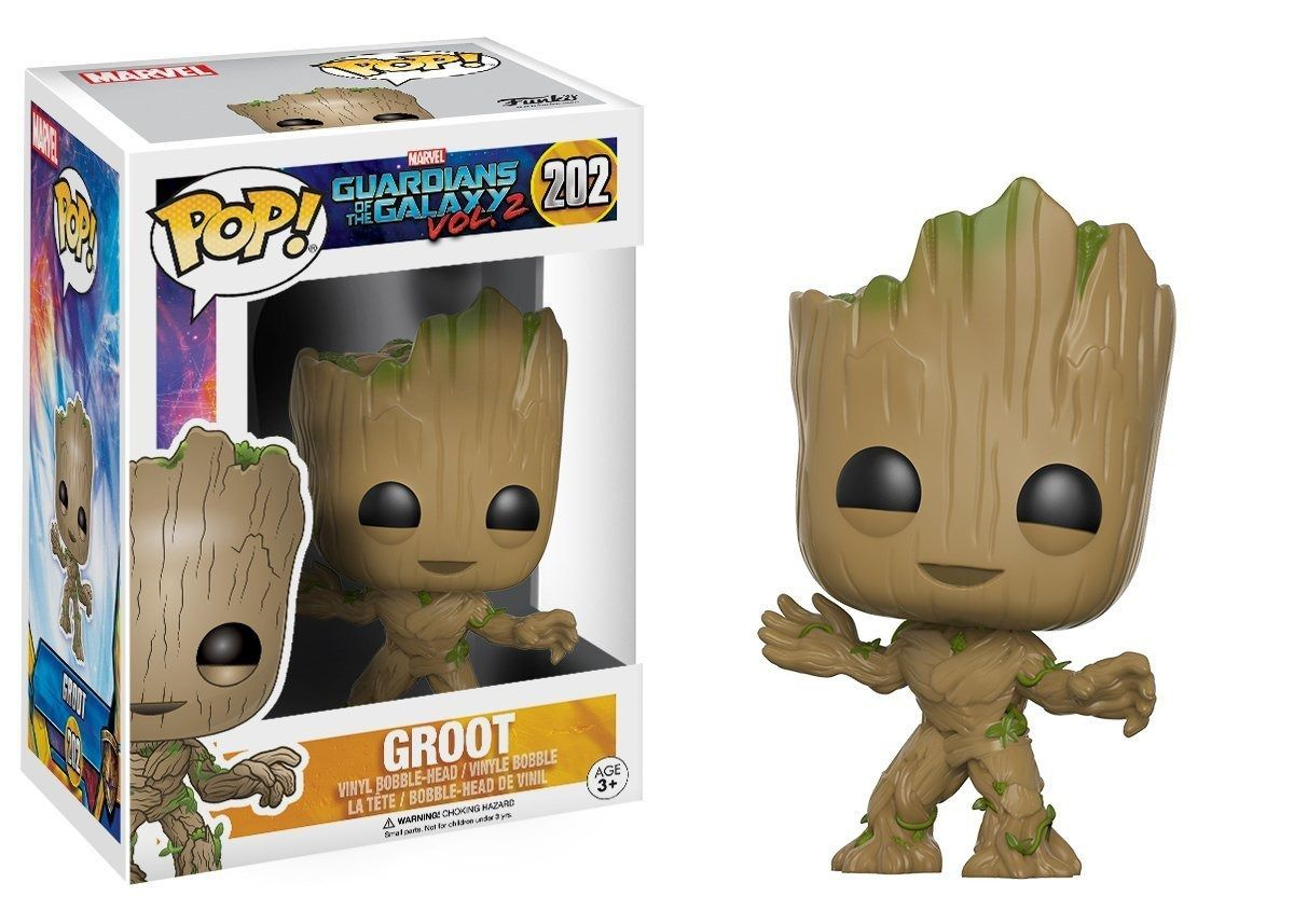 Funko Pop Marvel Guardians of the Galaxy Vol.02 - Groot
