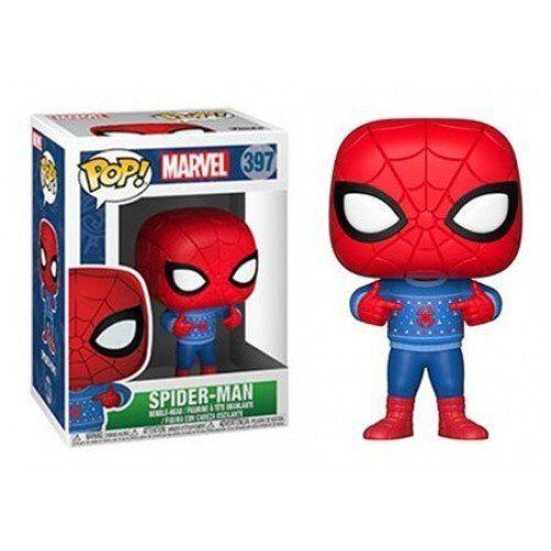 Funko Pop Marvel Holiday - Spider-Man 397