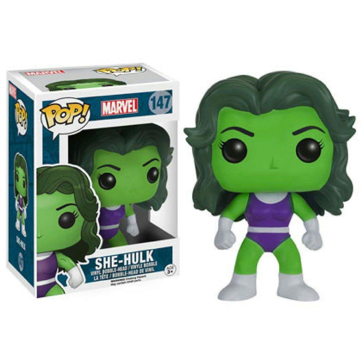 Funko Pop Marvel - Mulher-Hulk