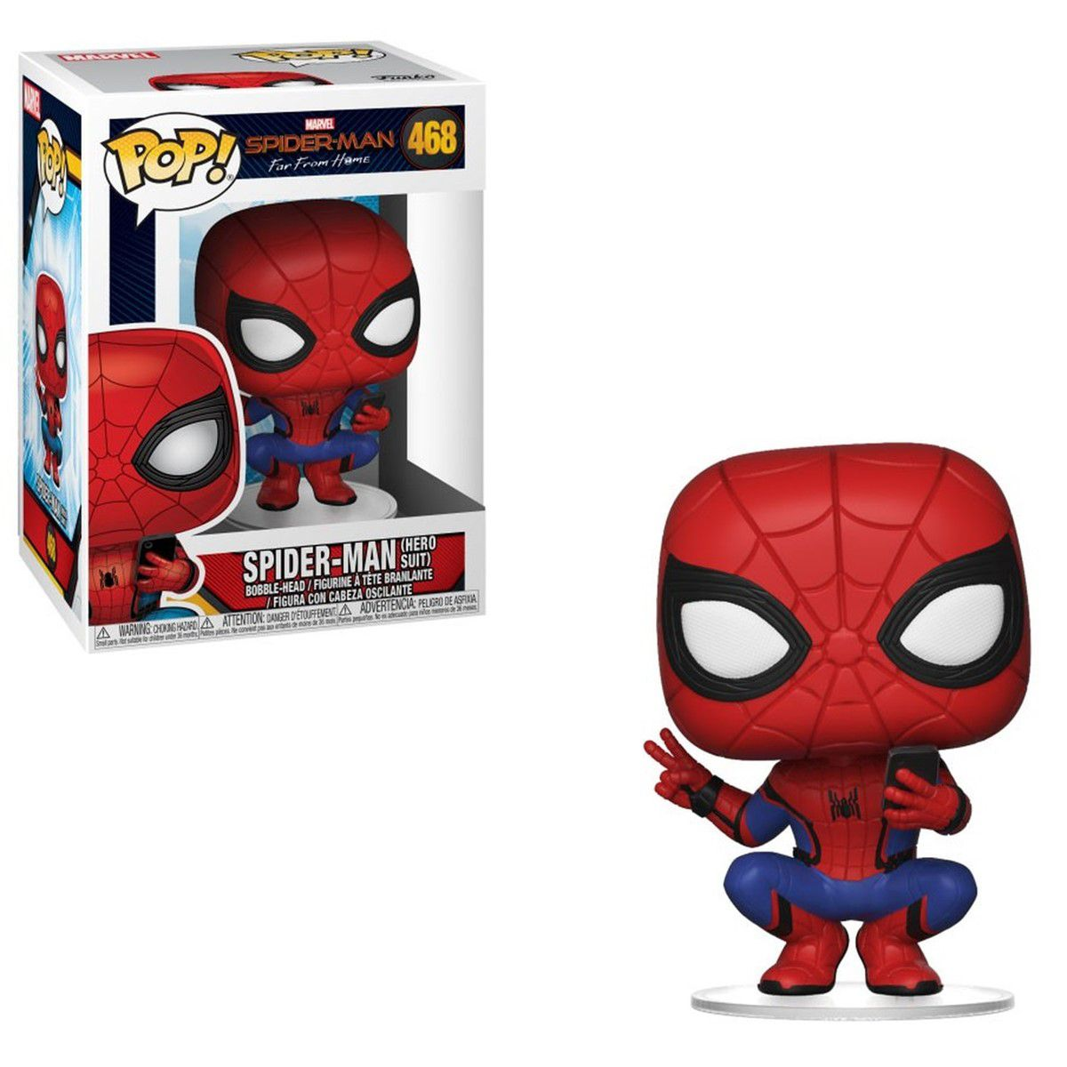 Funko Pop Marvel Spider-Man Far From Home Spider-Man 468