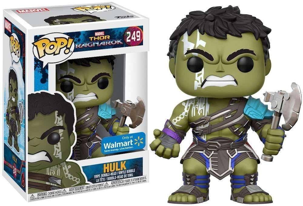 Funko Pop Marvel Thor Ragnarok - Hulk (Walmart Exclusive)