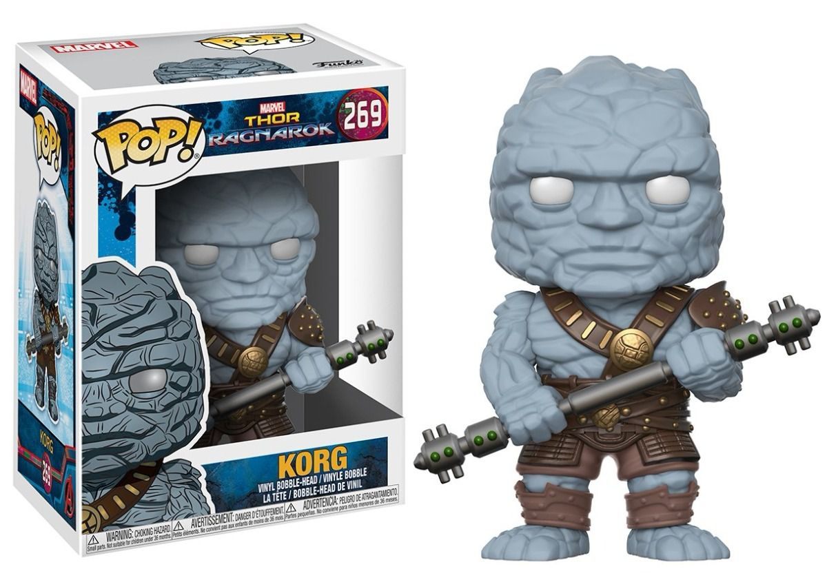 Funko Pop Marvel Thor Ragnarok - Korg
