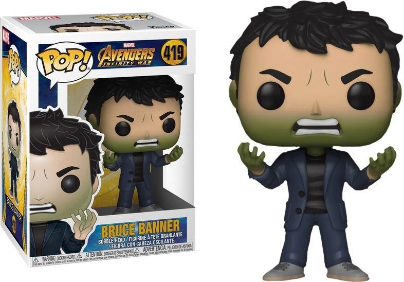 Funko Pop Marvel Vingadores Guerra Infinita - Bruce Banner