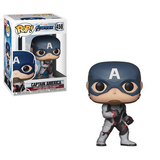 Funko Pop Marvel Vingadores Ultimato Capitão America