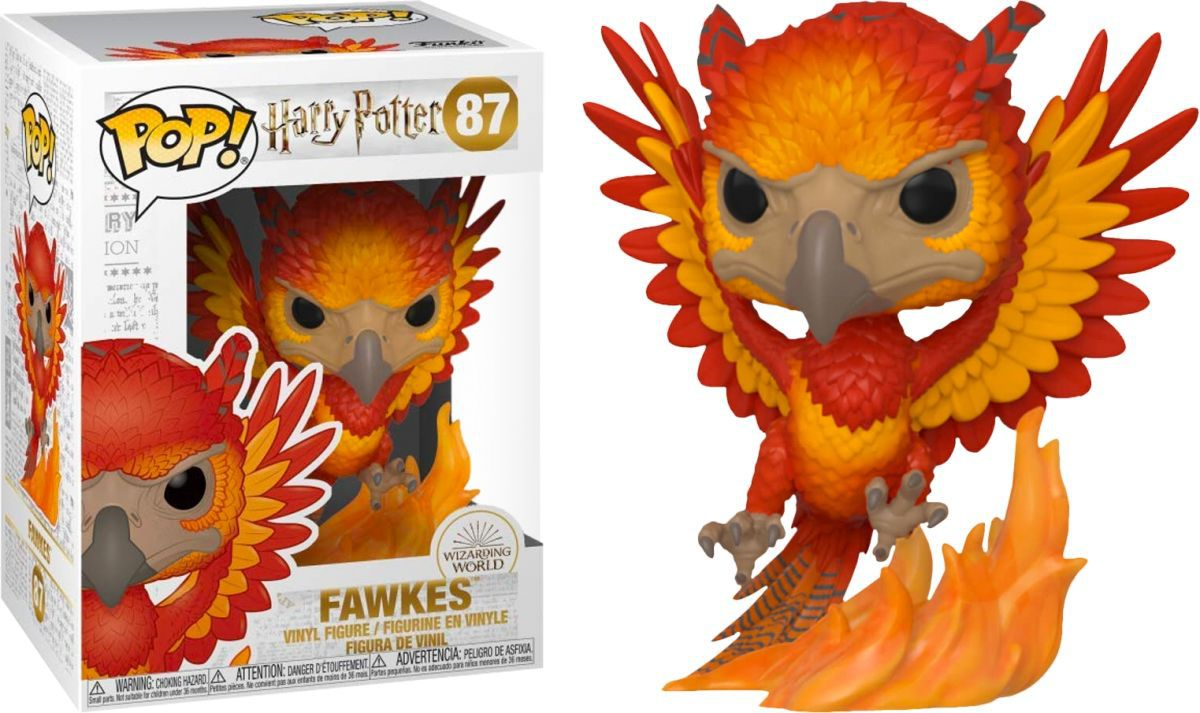 Funko Pop Movies Harry Potter Fawkes 87