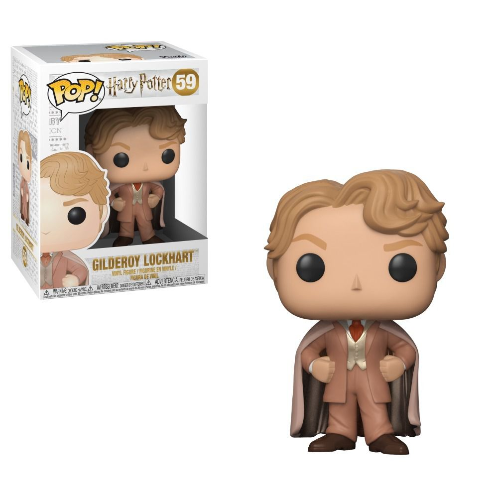 Funko Pop Movies Harry Potter - Gilderoy lockhart 59