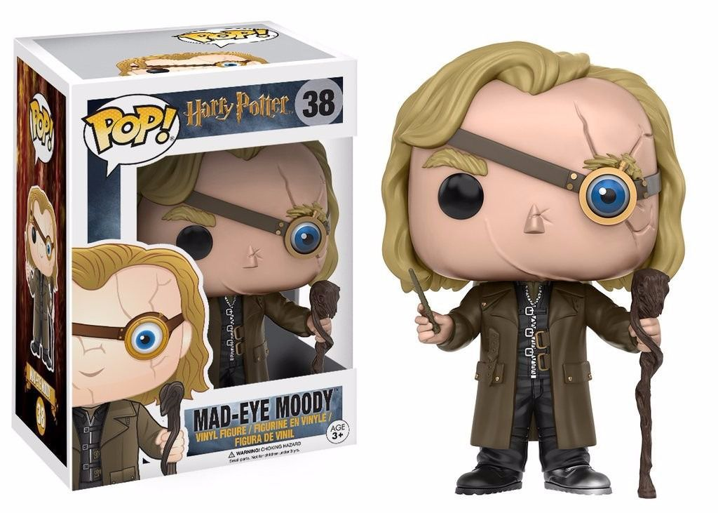 Funko Pop Movies Harry Potter Mad-eye Moody - Olho-tonto