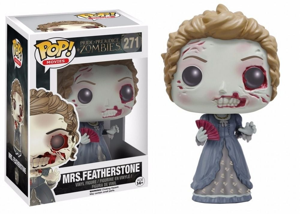 Funko Pop Movies Pride Prejudice Zombies - Mrs. Featherstone