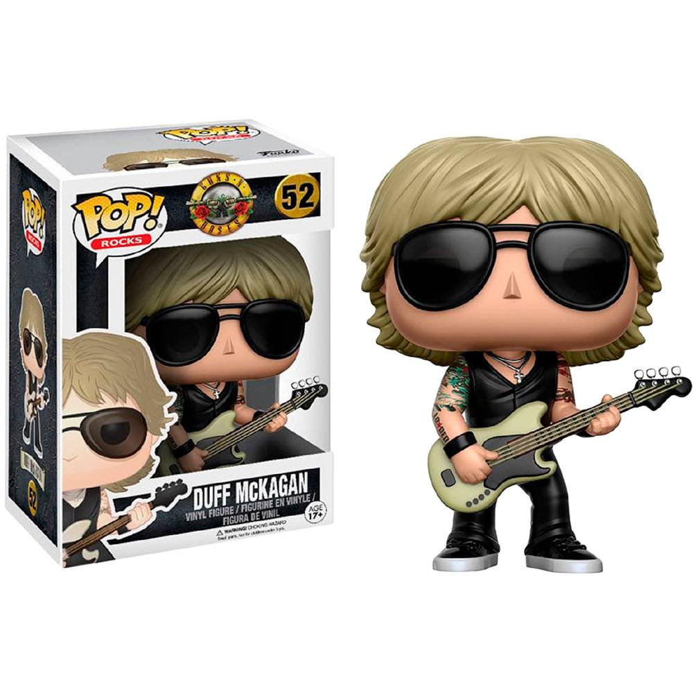 Funko Pop Rock Guns N Roses - Duff McKagan