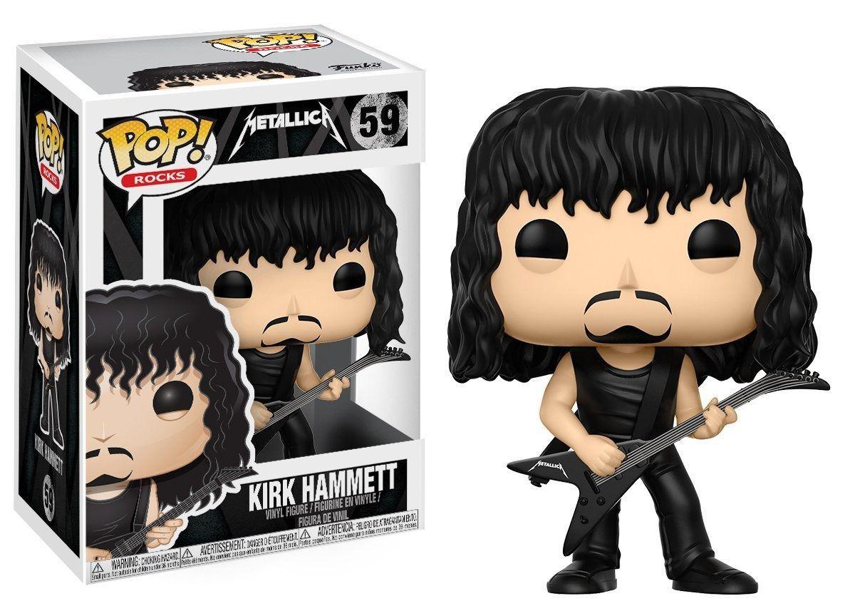 Funko Pop Rock Metallica - Kirk Hammett