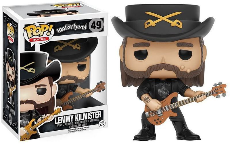 Funko Pop Rocks Motorhead Lemmy Kilmster