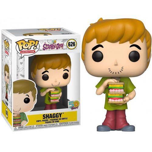 Funko Pop Scooby-Doo 50 anos Shaggy Salsicha 626