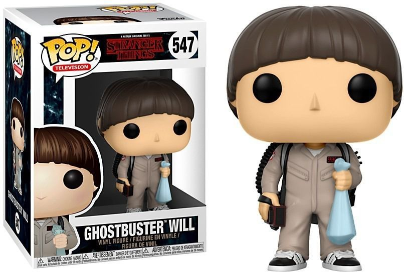 Funko Pop Series Stranger Things - Ghostbuster Will