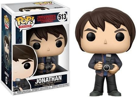 Funko Pop Series Stranger Things - Jonathan