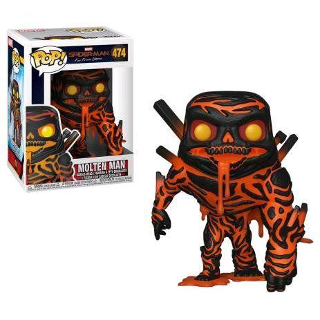 Funko Pop Spider-Man Far From Home - Molten Man 474