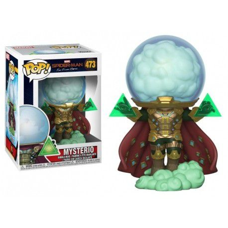 Funko Pop Spider-Man Far From Home  Mysterio 473