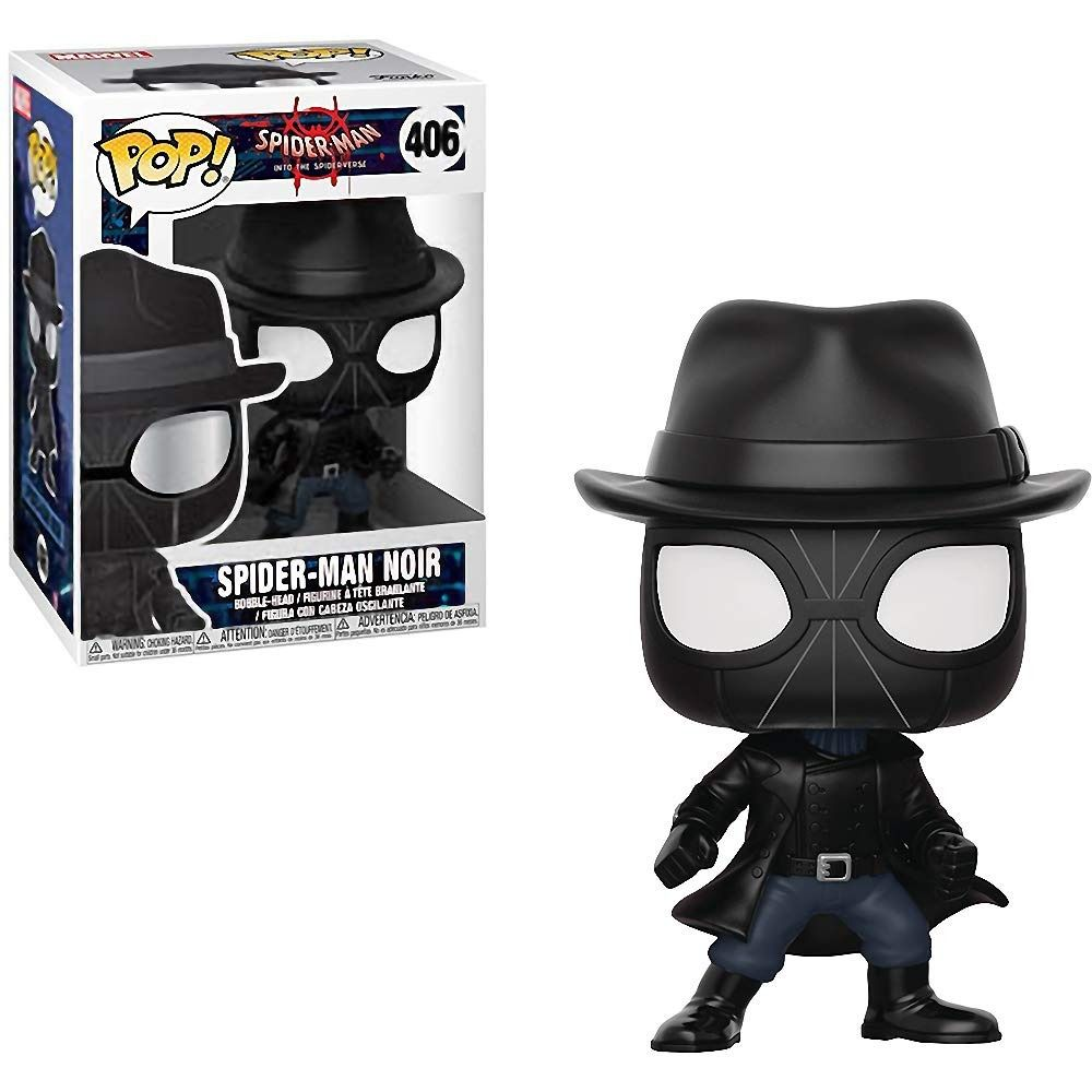 Funko Pop Spider-Man Homem Aranha Spider-man Noir 406