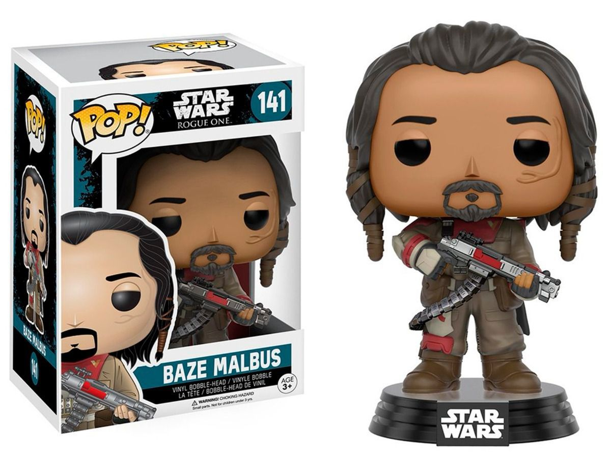 Funko Pop Star Wars Rogue One - Baze Malbus