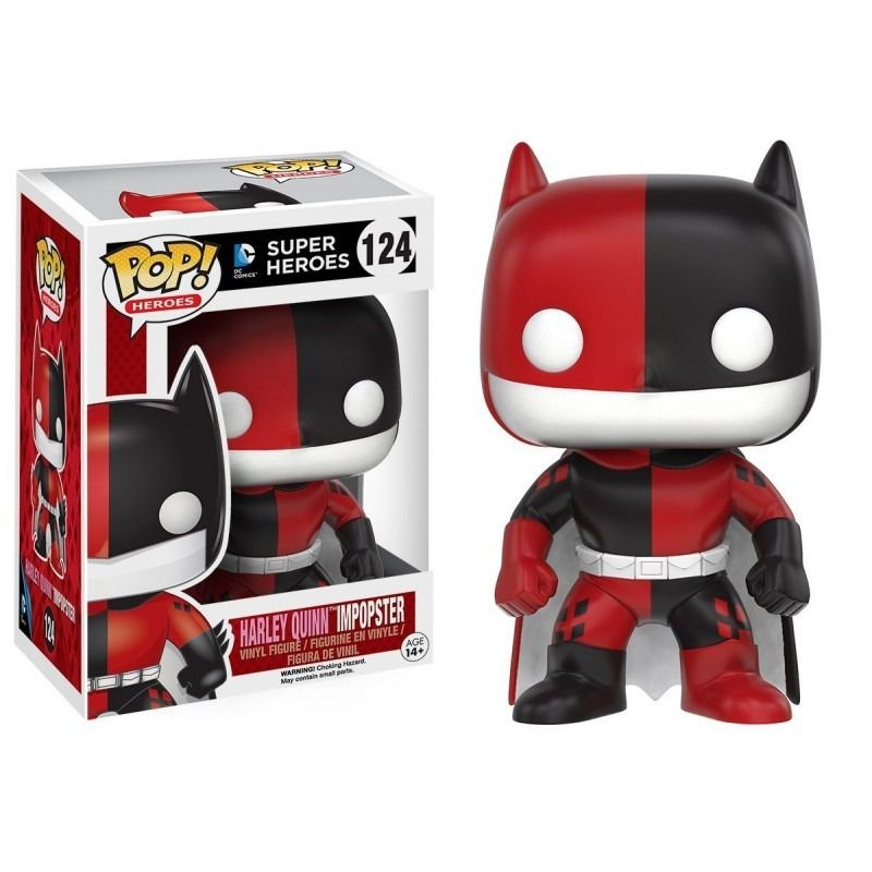 Funko Pop Super Heroes - Harley Quinn Impopster