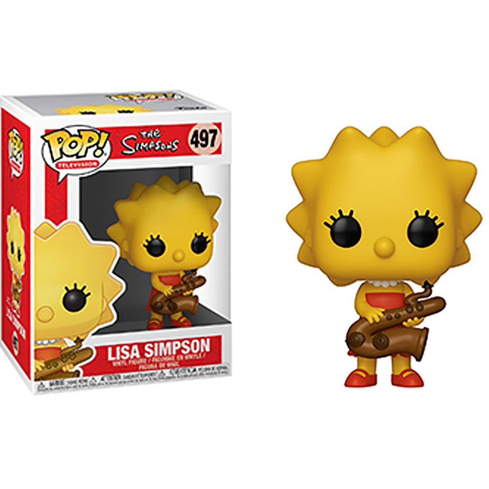 Funko Pop The Simpsons - Lisa Simpson 497